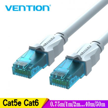Vention Ethernet Cable Cat5e Lan Cable UTP CAT 6 RJ 45 Network Cable 10m/20m/40m Patch Cord for Laptop Router RJ45 Network Cable