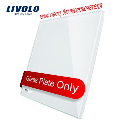 Livolo EU Standard Blank glass panel , All Blank(For Decoration) ,Glass Panel, Not the Switch,C7-C0-11/12/13/15 (4 Colors)