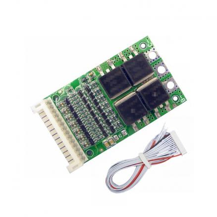 BMS 6S 7S 8S 9S 10S 11S 12S 13S 4.2V 25A Adjustable BMS Lithium Li-ion 18650 Battery Pack Protection Circuit Module PCB PCM