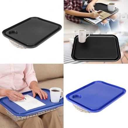 42x33cm Portable Laptop Desk Tray Creative Outdoor Learning Desk Lazy Tables New Laptop Stand Holder For Bed Sofa