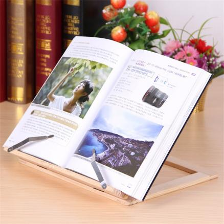 Easy Reading Wooden Pine Frame Reading Bookshelf Book Reading Bracket Tablet PC Support Music Stand Wooden Table Drawing Easel
