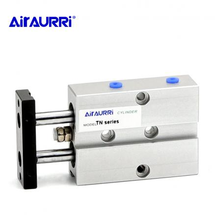 Aluminum Alloy TN Type Pneumatic Cylinder 10mm 16mm 20mm 25 mm Bore 10/15/20/25/30/35/40/45/50/60/70mm Stroke Air Cylinder