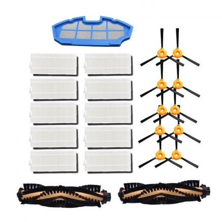 Robot Aspirador for Conga excellence Robot Cleaner Parts Side brush HEPA filter kit for recambios conga excellence 990