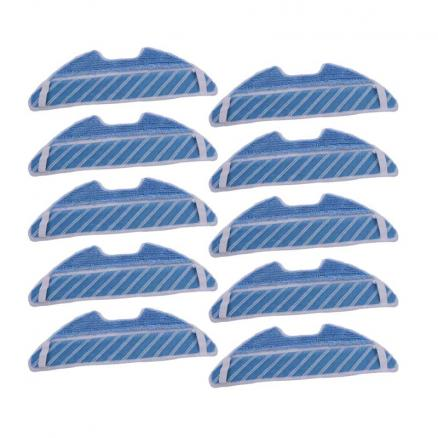 Mop Pads Cloth Replacement for Cecotec Conga 1390 Cecotec Conga 1290 Robotic Vacuum Cleaner Spare Parts Cleaning Pad Cloth