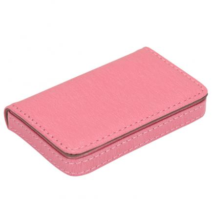 New Men Card Holder Protector Leather Wallet Card Holder Pop-up Anti-theft Bank PU Business Cards Case Woman 812
