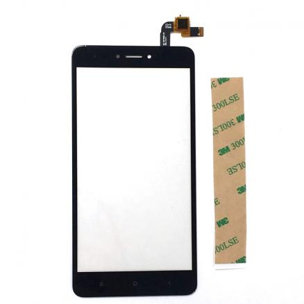 A Quality For Xiaomi Redmi Note 4 Global Snapdragon 625 TouchScreen Front Glass With Sensor Replacement