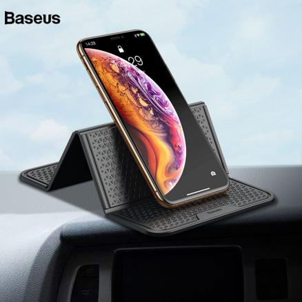 Baseus Universal Sticker Car Phone Holder Stand Multi-Function Nano Rubber Pad For iPhone Cell Phone Mount Car Holder Support