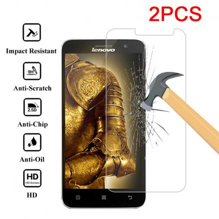 2pcs HD 9H Film Glass Screen Protector for Lenovo Z6 Lite Z5 Pro Z5S Protective Glass for Lenovo A328 A536 A316i A2010 A1000 A5