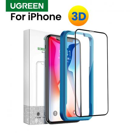 Ugreen For iPhone 7 Protective Glass On iPhone 7 Plus X XS 6 6s 8 Plus XR 11 Pro Max 3D Privacy Screen Protectoor Tempered Glass