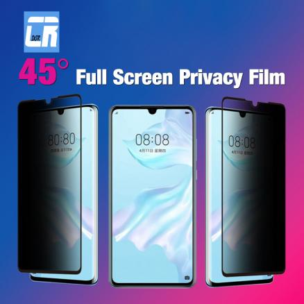 Anti Spy Tempered Glass for Samsung Galaxy A50 A30 A6S A80 A9S M10 M20 S10E J4 J6 A6 A8 2018 Protect Privacy Screen Protector