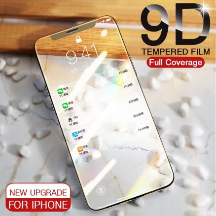 9D Full Cover Screen Protective Glass For iPhone 11 Pro MAX 8 7 6 6S Plus XR XS MaX Protector On iPhone X XS 11 Tempered Glass