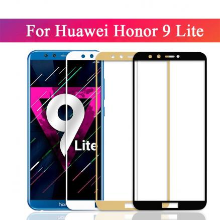9h full cover screen tempered for huawei honor 9 lite Protective film for huawei honor 9 9 light Protector Film on hono 9 9lite