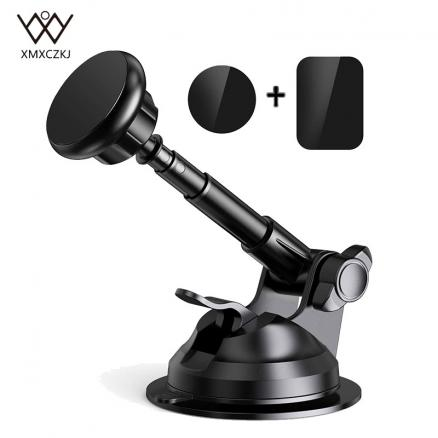 Car Phone Holder Magnetic Car Windshield Dashboard Mount Long Arm Stand For iPhone Xs Mas X 8 Universal Mobile Phone Holder