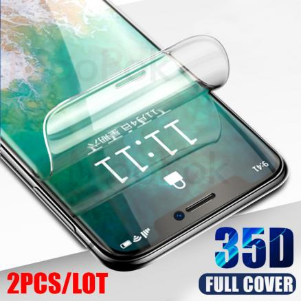 3Pcs 35D Hydrogel Film For iPhone 7 8 Plus 6 6s Plus Screen Protector iPhone X XS XR XS Max 11 Pro Max Soft Protective Film