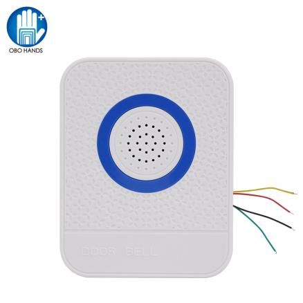DC12V Wired 4 Core Wire Doorbell Access Control System Home Door Bell Dingdong Ringtone Electric Security Controller Ring Button