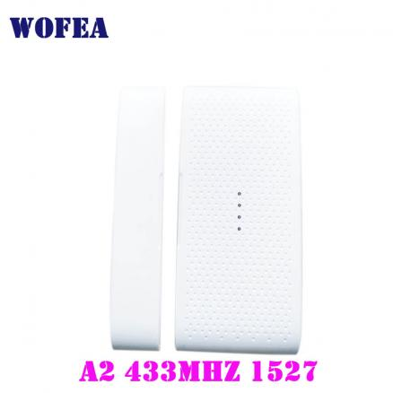 Free shipping NEW designed Wireless window and door sensor contact magnetic detector 1527 battery not included
