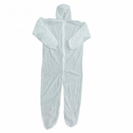 L XL XXL Size Disposable Coverall Security Clothing Dust-proof Clothing Isolation Clothes Labour Suit One-pieces Nonwovens