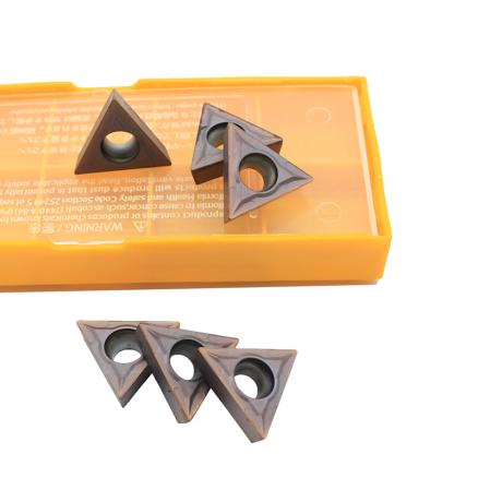 TCMT16T304 MA VP15TF / VUE6020 / US735 Internal Turning Carbide Inserts Turning ToolsTungsten Carbide CNC Blade Lathe Tools