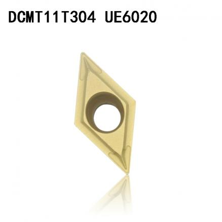 DCMT11T304 DCMT32.51 UE6020 carbide inserts Internal Turning tool DCMT 11T304  Lathe Tools cutter CNC tool