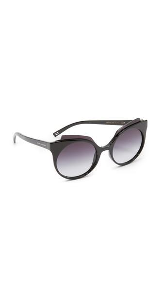 Marc Jacobs Layers Brow Sunglasses