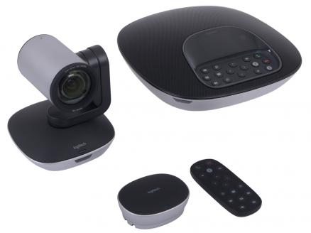 Веб-камера Logitech ConferenceCam Group HD 2Мп, 1920x1080, 90 градусов, объектив Carl Zeiss, пульт ДУ, спикерфон, микрофон, USB