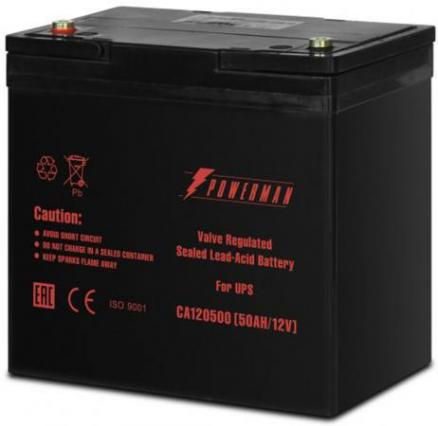 Батарея Powerman CA12500 12V/50AH