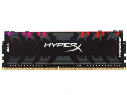 Оперативная память Kingston HyperX Predator RGB HX430C15PB3A/16 DIMM 16GB DDR4 3000MHz DIMM 288-pin/PC-24000/CL15