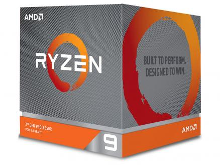 Процессор AMD Ryzen 9 3900X BOX 105W, 12C/24T, 4.6Gh(Max), 70MB(L2+L3), AM4