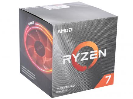 Процессор AMD Ryzen 7 3800X BOX Wraith Prism cooler 105W, 8C/16T, 4.5Gh(Max), 36MB(L2+L3), AM4 (100-100000025BOX)
