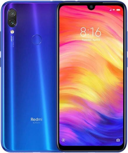 "Смартфон Xiaomi Redmi Note 7 M1901F7G Neptune Blue Qualcomm Snapdragon 660 (2.2)/3 Gb/32 Gb/6.3"" (2340 x 1080)/DualSim/LTE/NFC/BT/Android 9.0"