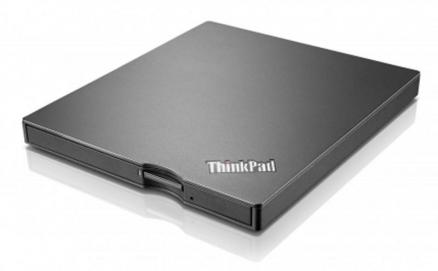 Привод Lenovo ThinkPad UltraSlim USB DVD Burner черный 4XA0E97775