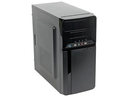 Компьютер OLDI Computers Office 130 Pro (0702898) Системный блок Black / Pentium G5400 3.7GHz / 8GB / 120GB SSD / HD Graphics 610 / noDVD / Win 10 Pro