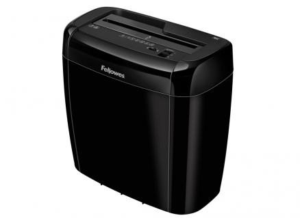 Шредер Fellowes Powershred 36C, DIN P-4, 4х40 мм, 6 лст., 12 лтр., Safety Lock