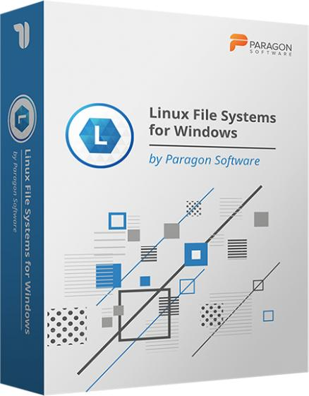 Linux File System for Windows by Paragon Software (Multilingual)