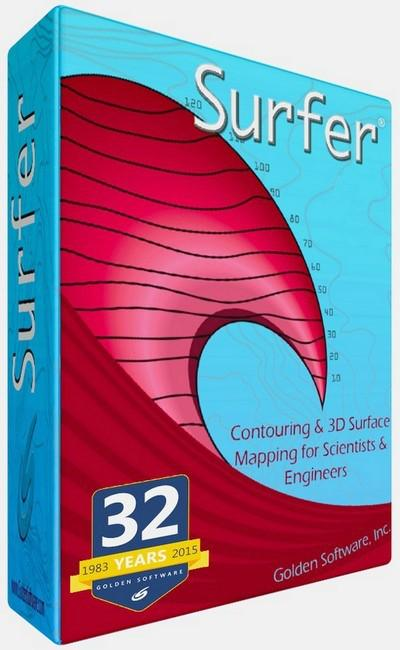 Golden Software Surfer 16