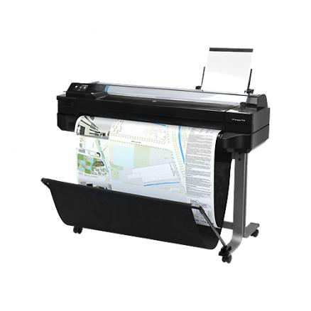"""Плоттер HP Designjet T520 ePrinter (36"""",4color,2400x1200dpi,1Gb, 35spp(A1),USB/LAN/Wi-Fi,stand,media bin,rollfeed,sheetfeed,tray50(A3/A4), autocutter"""