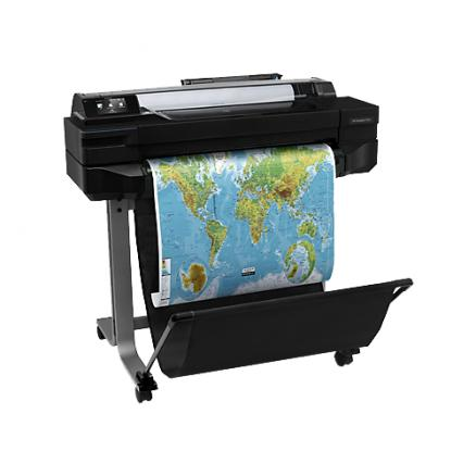 """Плоттер HP Designjet T520 ePrinter (24"""",4color,2400x1200dpi,1Gb,35spp(A1),USB/LAN/Wi-Fi,stand,mediabin,rollfeed,sheetfeed,tray50(A3/A4), autocutter"""