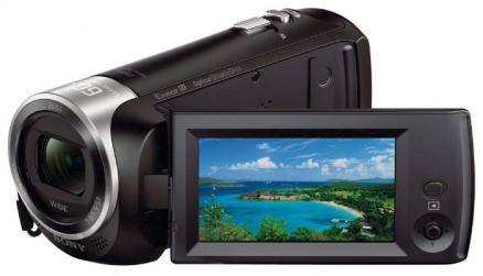 "Видеокамера Sony HDR-CX405B black <30x.zoom, cmos, 2.7"", os, avchd/mp4>"