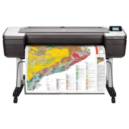 "Принтер HP DesignJet T1700dr (44"",2400x1200dpi, 26spp(A1), 128Gb(virtual), HDD500Gb, host USB type-A/GigEth,stand,sheet feed,2 rollfeed,autocutter"