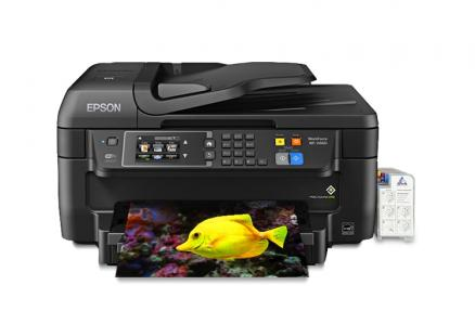 МФУ Epson Workforce WF-2660 с СНПЧ
