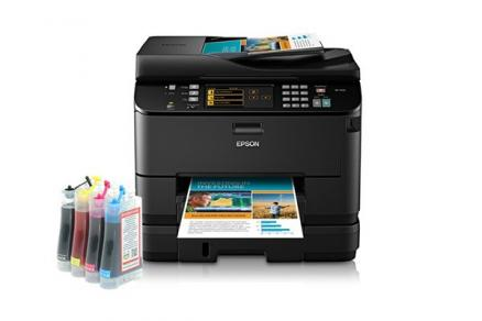 МФУ Epson WorkForce 4540 Refurbished с СНПЧ