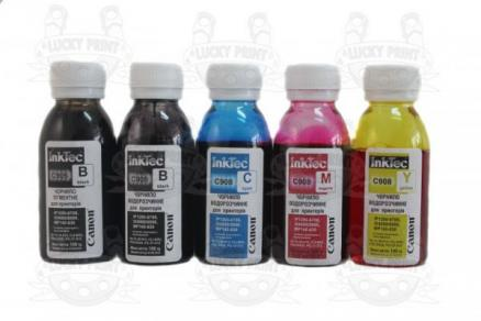 Чернила IT C908 InkTec Комплект (5*100ml)