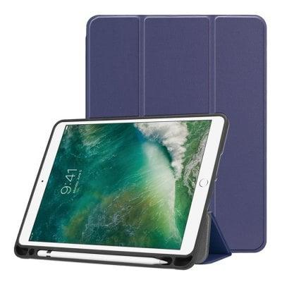Stand Design Protective Case with Pen Slot for iPad 2018