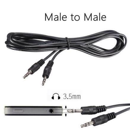 3.5mm 10FT Male to Male Stereo Plug AUX Audio Cable For MP3 Speaker Mobile Phone
