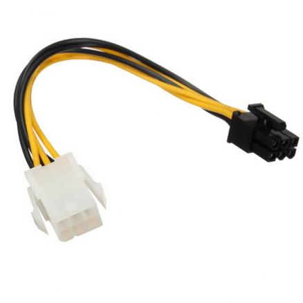 Power Cable Extension 6pin to 6pin PCIe Power Cable For Apple Power Mac Video Card
