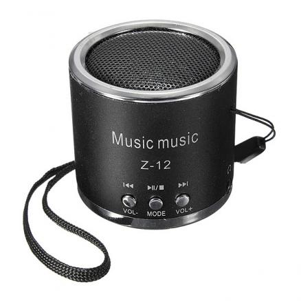 Portable Mini Speaker Amplifier FM Radio USB Micro SD TF Card MP3