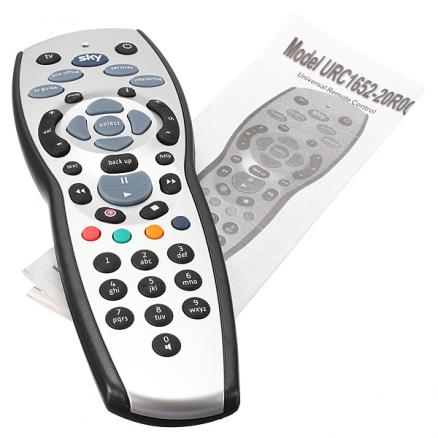 Standard Rev.9 TV Remote Control Controller Replacement For Sky HD Box