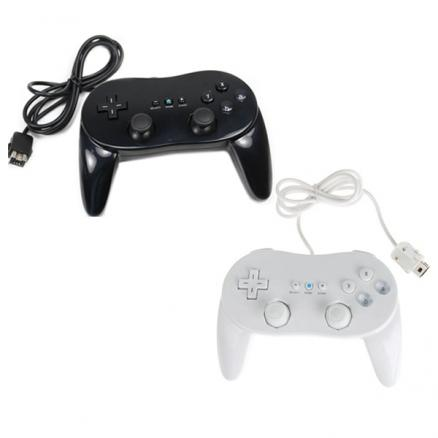 2nd Generation Classic Controller Pro For Nitendo Wii Black & White