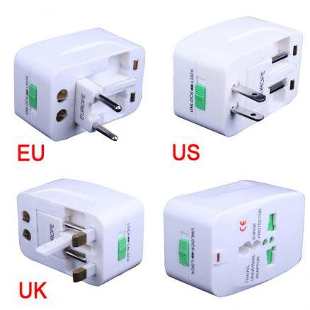 Universal Travel Power Charger Adapter Plug AU UK EU US