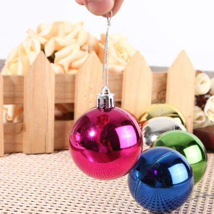 6pcs Christmas Xmas Tree Hanging Baubles Christmas Tree Decoration